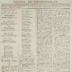 Gazette van Beveren-Waas 29/12/1889