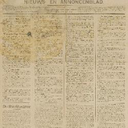 Gazette van Beveren-Waas 29/11/1896