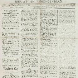 Gazette van Beveren-Waas 21/04/1889