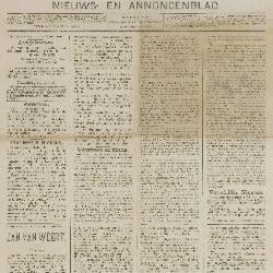 Gazette van Beveren-Waas 23/11/1890