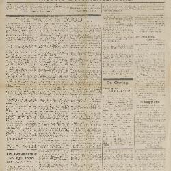 Gazette van Beveren-Waas 30/08/1914