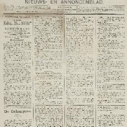 Gazette van Beveren-Waas 21/02/1892
