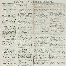 Gazette van Beveren-Waas 13/01/1889