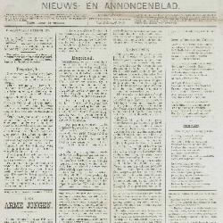 Gazette van Beveren-Waas 26/12/1886
