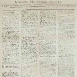 Gazette van Beveren-Waas 29/09/1889