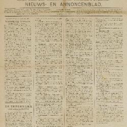 Gazette van Beveren-Waas 23/01/1898
