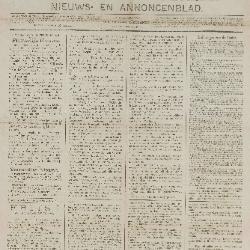 Gazette van Beveren-Waas 15/02/1891