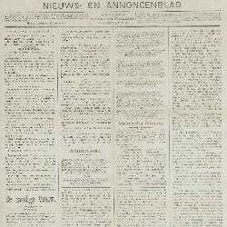 Gazette van Beveren-Waas 22/12/1889