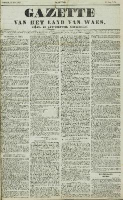 Gazette van het Land van Waes 12/04/1857