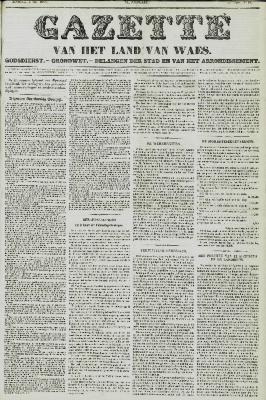 Gazette van het Land van Waes 02/05/1858