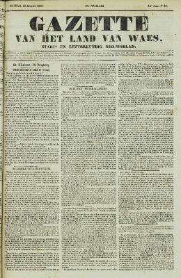 Gazette van het Land van Waes 19/08/1855