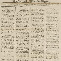 Gazette van Beveren 30/09/1888