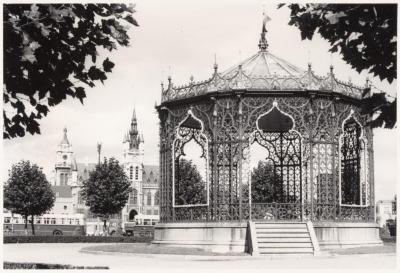 Kiosk op de Grote Markt, Sint-Niklaas, jaren '60