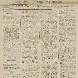 Gazette van Beveren 23/09/1888