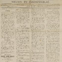 Gazette van Beveren-Waas 14/08/1887