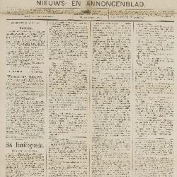 Gazette van Beveren  01/07/1888