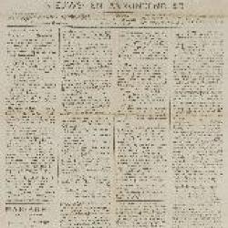 Gazette van Beveren-Waas 25/03/1888