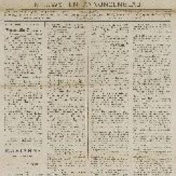 Gazette van Beveren-Waas  26/02/1888