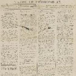 Gazette van Beveren 20/05/1888