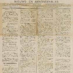 Gazette ven Beveren-Waas 29/07/1888