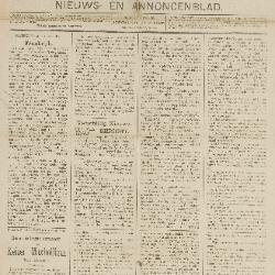 Gazette van Beveren-Waas 22/07/1888
