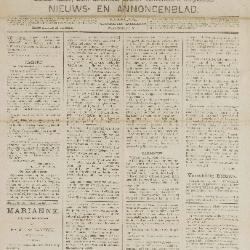 Gazette van Beveren-Waas 20/11/1887