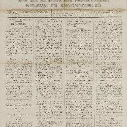 Gazette van Beveren-Waas 22/01/1888