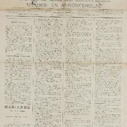 Gazette van Beveren-Waas 06/11/1887