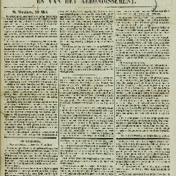 Gazet van St. Nicolaes 29/05/1853