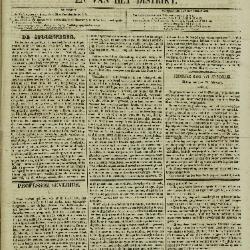Gazet van Sint-Nicolaes 27/02/1853