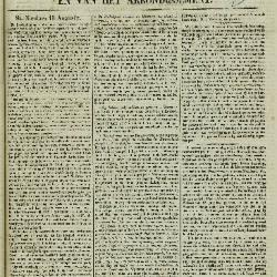 Gazet van St. Nicolaes 14/08/1853