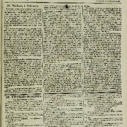 Gazet van St. Nicolaes 05/02/1854