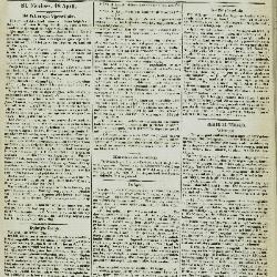 Gazet van St. Nicolaes 19/04/1857