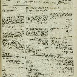 Gazet van Sint-Nicolaes 11/09/1853