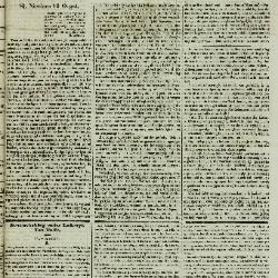 Gazet van St. Nicolaes 13/08/1854