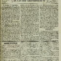 Gazet van St. Nicolaes 18/09/1853