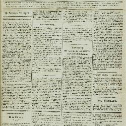 Gazet van St. Nicolaes 22/04/1855