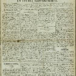 Gazet van St. Nicolaes 20/04/1856