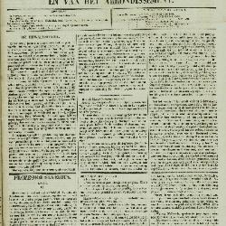 Gazet van St. Nicolaes 06/03/1853