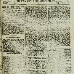 Gazet van St. Nicolaes 25/09/1853
