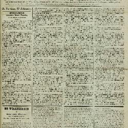 Gazet van St. Nicolaes 18/02/1855