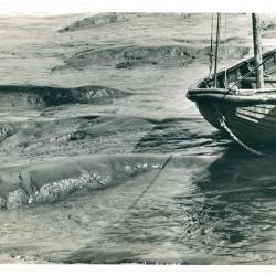 Haventje van Kallo (slib + boot)