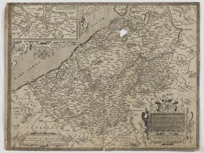 Ortelius, Kaart van Vlaanderen
