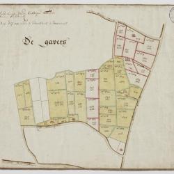 Wijkkaart van Haasdonk, omgeving De Gavers