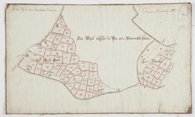 Wijkkaart van Haasdonk, omgeving Perstraat en Botermelkstraat