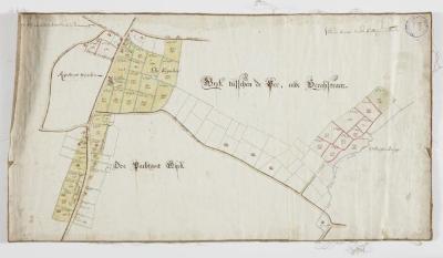 Wijkkaart van Haadonk, omgeving Ropstraat en Bergstraat
