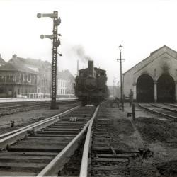 Spoorlijn 59 Spooremplacement Sint- Niklaas 1951