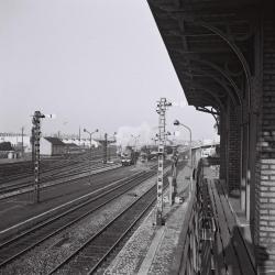 Spoorlijn 59 Spooremplacement Sint- Niklaas 1964