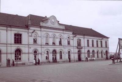 Spoorlijn 59 Station Sint- Niklaas 1958