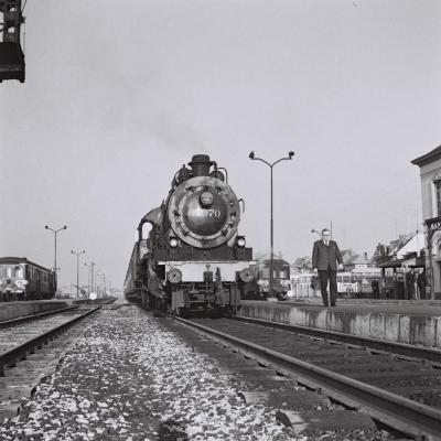 Spoorlijn 59 Laatste stoomtrein station Sint- Niklaas